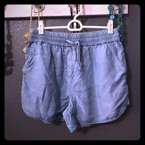 Cremieux Soft Denim Shorts